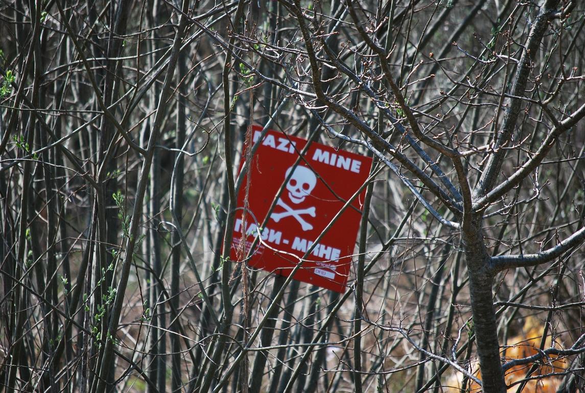 es gibt immer noch Landminen